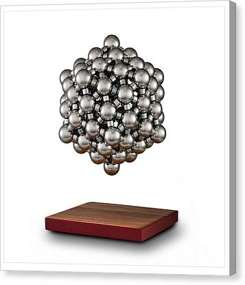 Snub Dodecahedron Canvas Print by Raul Gonzalez