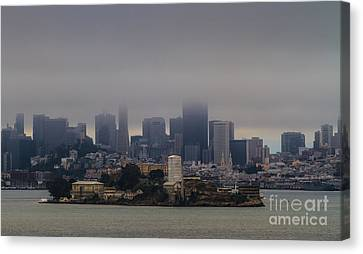 So Close And Yet So Far Canvas Print by Mitch Shindelbower