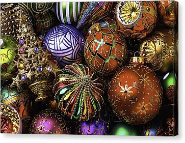 So Many Beautiful Ornaments Canvas Print by Garry Gay
