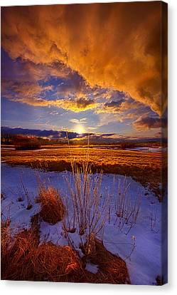 So Many Times Before Canvas Print by Phil Koch