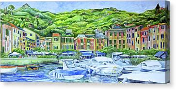 So This Is Portofino Canvas Print
