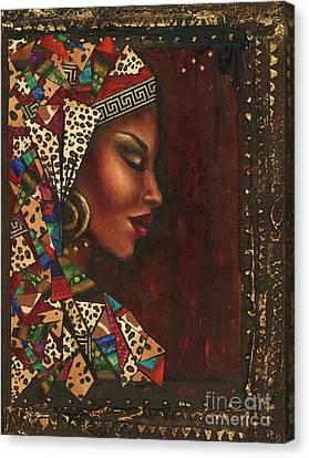 So Very Thankful Canvas Print by Alga Washington