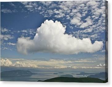 Soaring Cloud Canvas Print