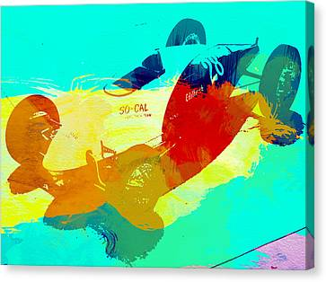Socal Canvas Print by Naxart Studio
