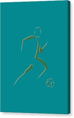 Soccer Player7 Canvas Print