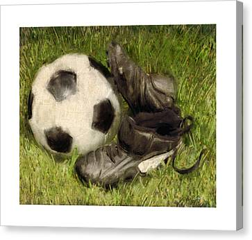 Soccer Practice Canvas Print by Craig Tinder