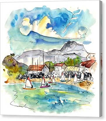Socoa 02 Canvas Print by Miki De Goodaboom