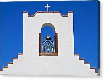 Canvas Print featuring the photograph Socorro Mission La Purisma by Kathleen Scanlan