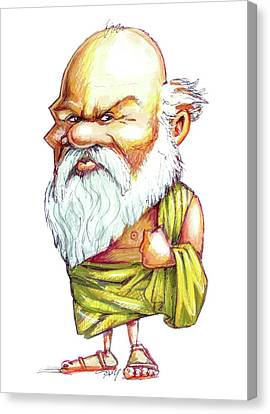 Socrates Canvas Print by Gary Brown