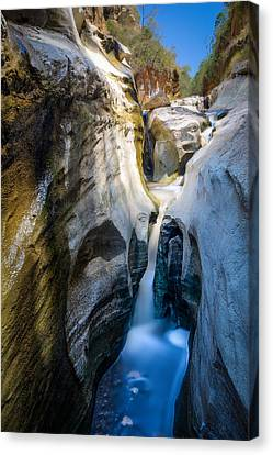 Canvas Print featuring the photograph Soda Cascade by Mike Gaudaur