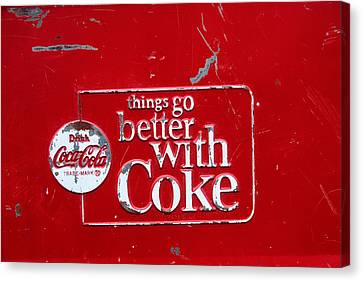 Soda Of Choice Canvas Print by Toni Hopper