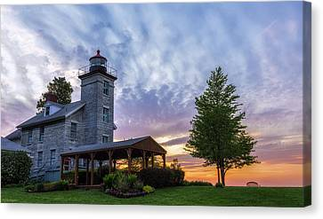 Sodus Bay Lighthouse Canvas Print