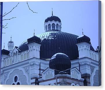 Sofia Synagogue In Bulgaria Canvas Print