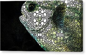 Sofishticated - Fish Art By Sharon Cummings Canvas Print by Sharon Cummings