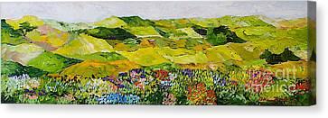 Soft And Lush Canvas Print by Allan P Friedlander