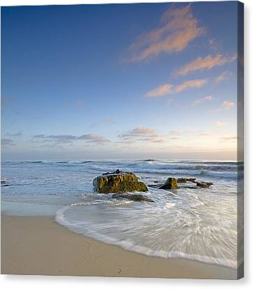 West Coast Canvas Print - Soft Blue Skies by Peter Tellone