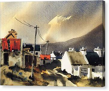 Soft Day In Achill Mayo Canvas Print