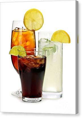 Soft Drinks Canvas Print