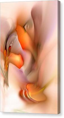 Soft Feelings Canvas Print by Anastasiya Malakhova