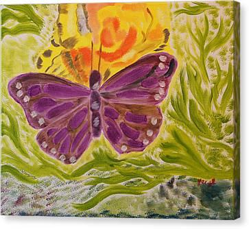 Soft Flutters Canvas Print