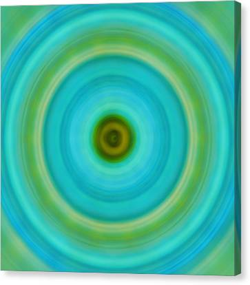 Soft Healing - Energy Art By Sharon Cummings Canvas Print by Sharon Cummings