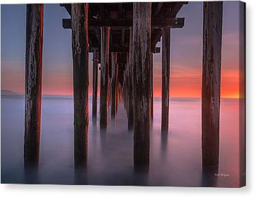 Soft Light From Starboard Canvas Print by Tim Bryan