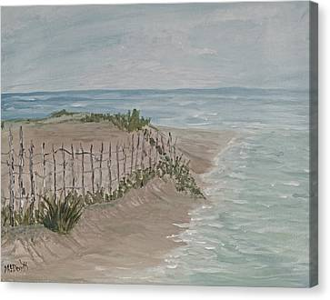 Rose Cottage Gallery Canvas Print - Soft Sea by Barbara McDevitt