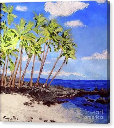 Soft Seabreeze Canvas Print by Susan Plenzick