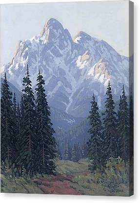 Soft Shades Of Spring Canvas Print by Randy Follis