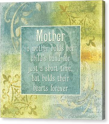 Soft Spa Mother's Day 1 Canvas Print by Debbie DeWitt
