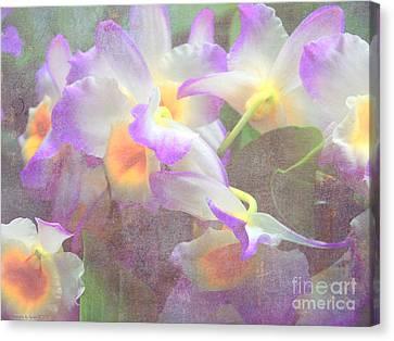 Soft Subtle Orchids Canvas Print