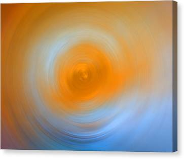Soft Sunrise - Energy Art By Sharon Cummings Canvas Print by Sharon Cummings