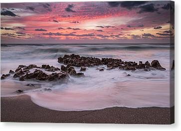 Soft Sunrise Canvas Print by Mike Lang