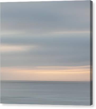 Soft Sunset La Jolla Canvas Print by Carol Leigh