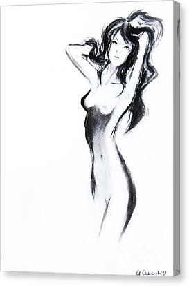 Soft Touch Canvas Print by Anna Androsovski