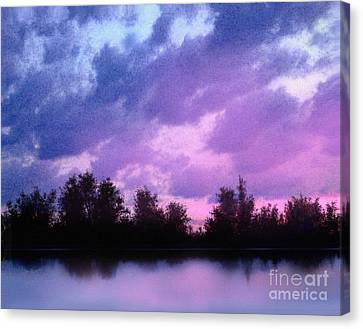 Soft Waters Canvas Print by Robert Foster