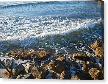 Soft Waves Canvas Print by George Katechis