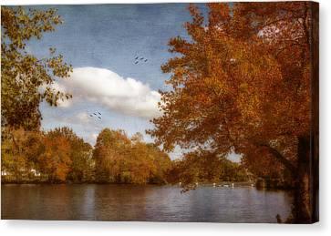 Softly Autumn Canvas Print