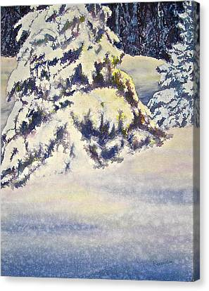 Softly Comes The Morning Canvas Print by Carolyn Rosenberger