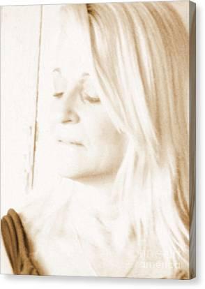 Softness Canvas Print by Sue Rosen
