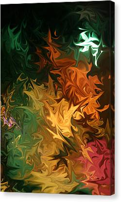 Canvas Print featuring the digital art Soild Water 1 by Joel Loftus