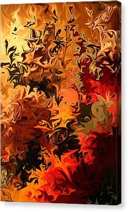 Soild Water 6 Canvas Print