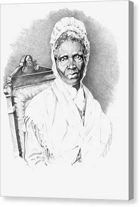 Sojourner Truth Canvas Print by Gordon Van Dusen
