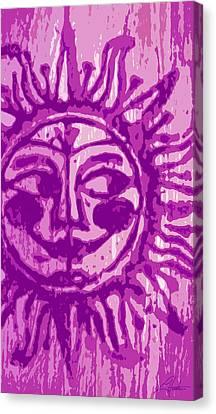 Sol - Fuschia Canvas Print