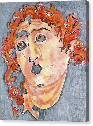 Marble Eyes Canvas Print - Sol Invictus by Roman School