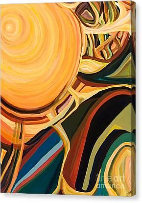 Solar Energy Canvas Print