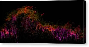 Solar Flare Canvas Print by Christopher Gaston
