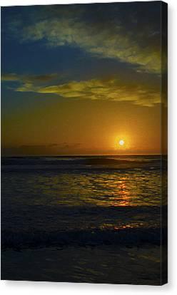 Solar Rise Canvas Print