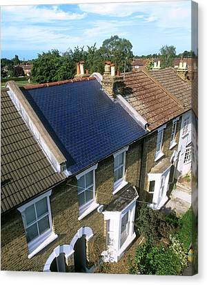 Solar Tiles Canvas Print by Martin Bond