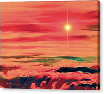 Solar Winds Canvas Print by The Art of Marsha Charlebois